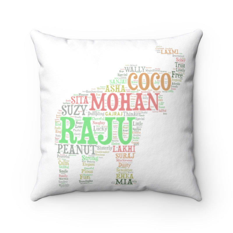 Accessory | WLSOS Word Cloud | Square Pillow