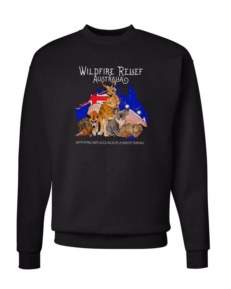 Men's | Wildfire Relief Australia | Crewneck Sweatshirt