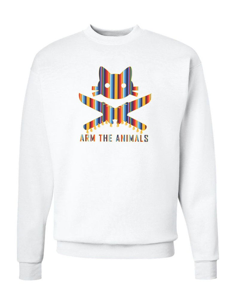 Men's | 9 Lives Serape | Crewneck Sweatshirt