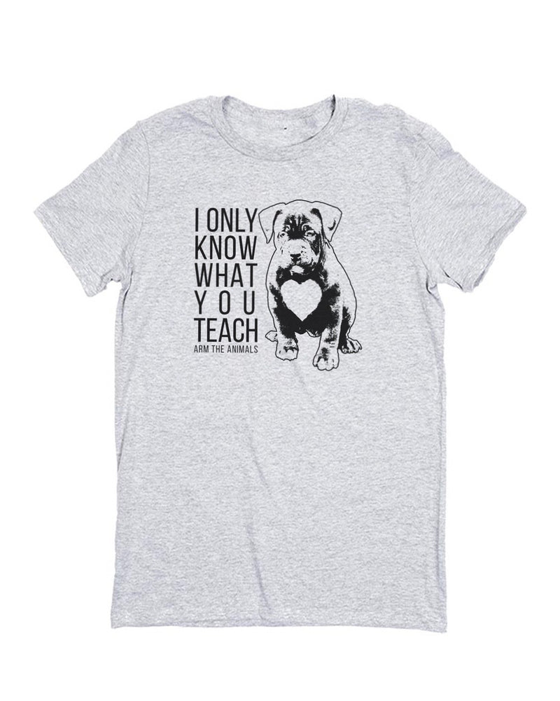 Men's | What You Teach Pittie | Crew