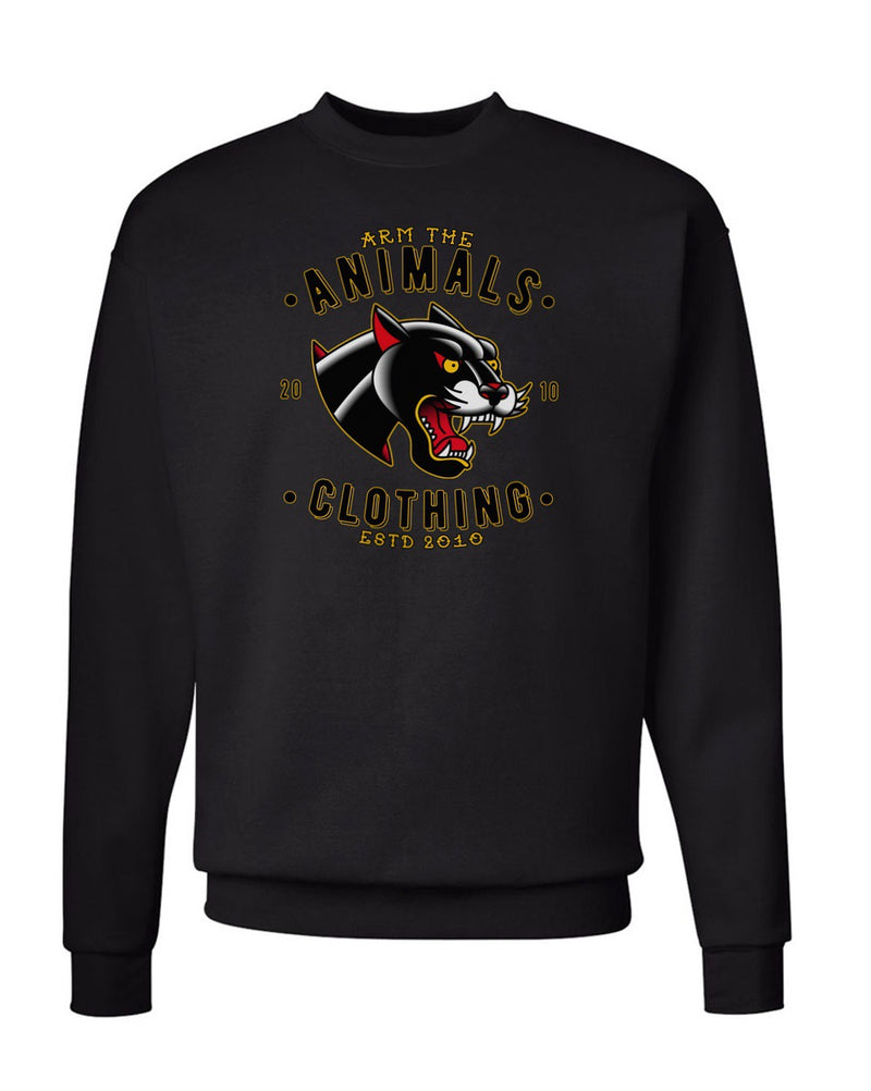 Men's | Varsity Panther | Crewneck Sweatshirt