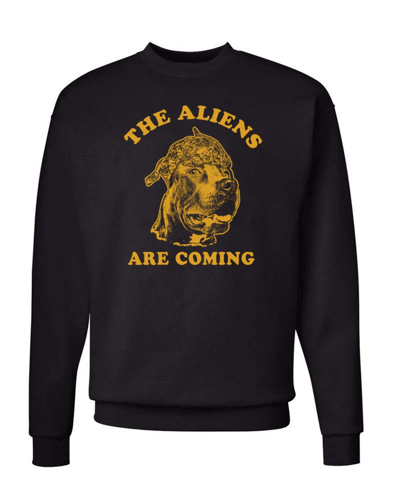 Men's | They Are Coming | Crewneck Sweatshirt