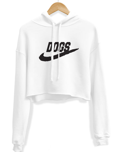 Women's | Just Dogs It | Crop Hoodie