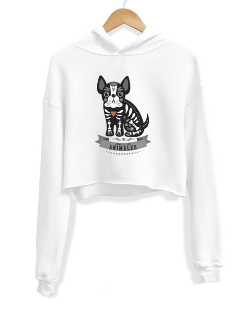 Women's | Frenchie Alebrije | Crop Hoodie