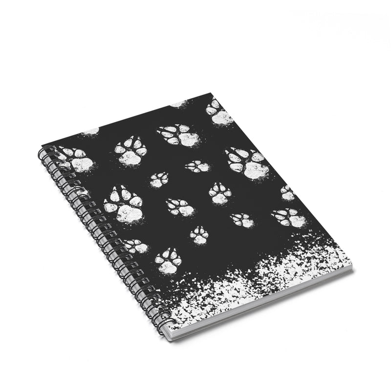 Accessory | Paw-sive Aggressive | Spiral Notebook - Ruled Line