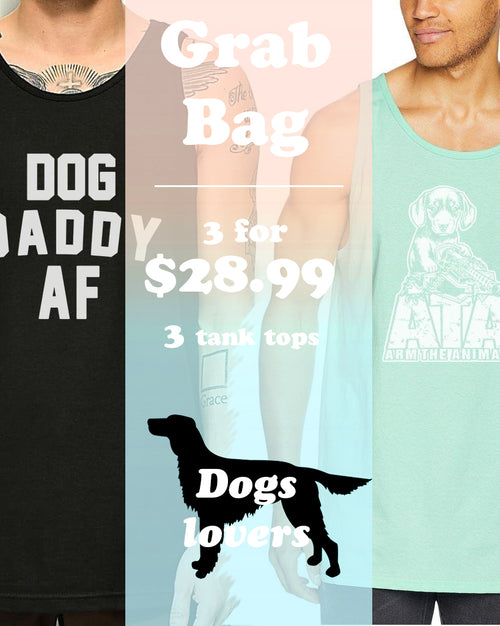 Men's | ATA Dog Tank Top | Grab Bag