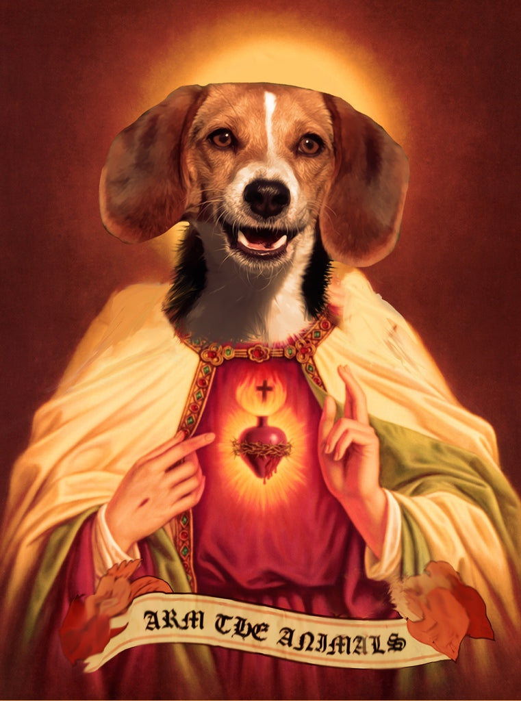 Home Goods | Holy Beagle | Devotional Candle