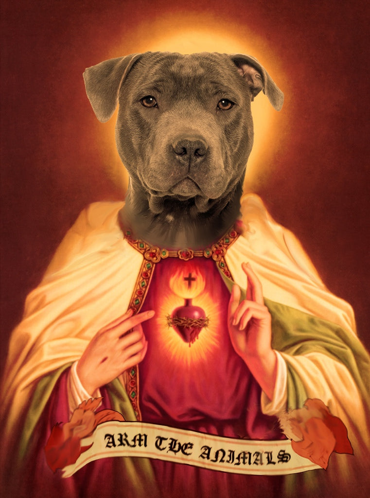 Home Goods | Holy Pittie | Devotional Candle