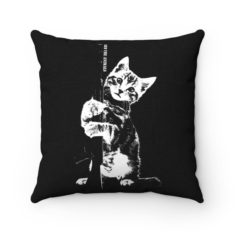 Accessory | Ain't Kitten Around | Square Pillow