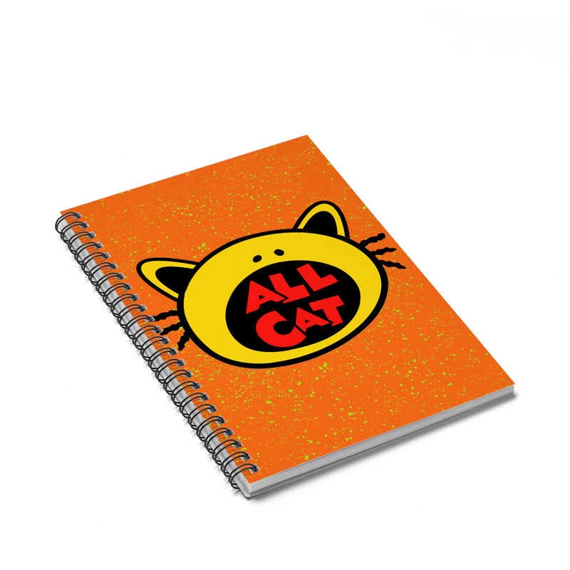 Accessory | All Cat | Spiral Notebook - Ruled Line