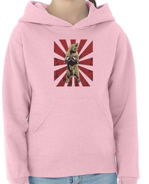 Youth Girls | Bear Traps | Hoodie