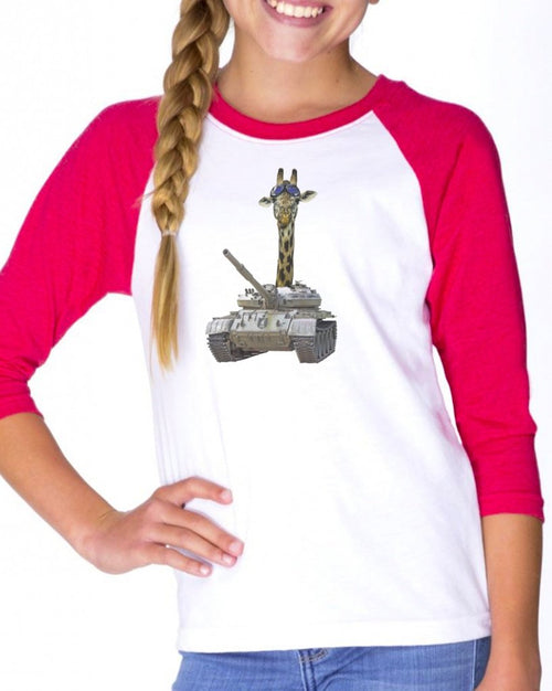 Youth Girls | Roll Out | Raglan