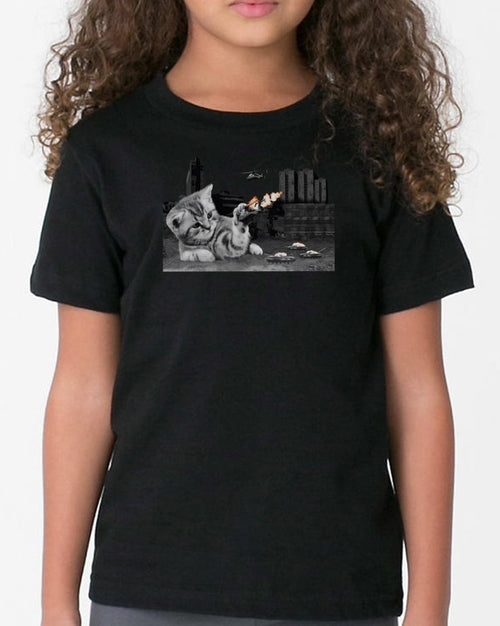 Youth Girls | Battle Cat | Tee