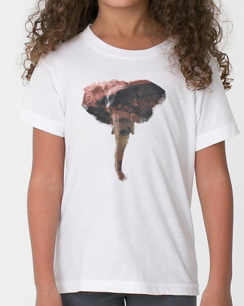 Youth Girls | African Elephant | Tee