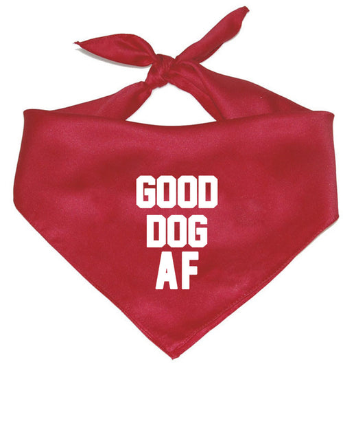 Accessory | Good Dog AF | Pet Bandana