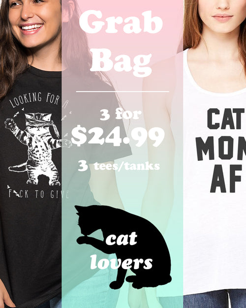 Women's | Cat Lover 3 Item Grab Bag