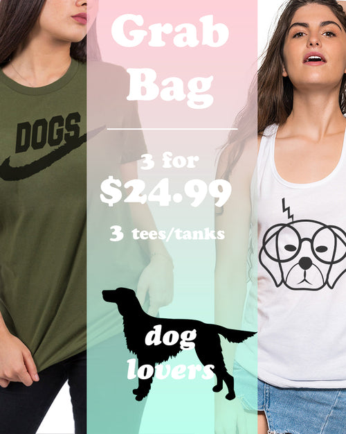 Women's | Dog Lover 3 Item Grab Bag