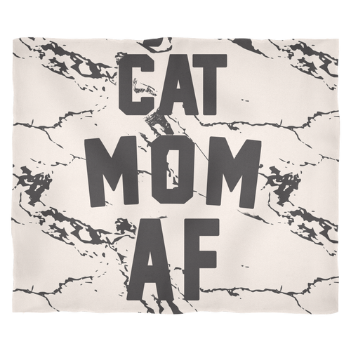 ACCESSORY | CAT MOM AF | FLEECE BLANKET