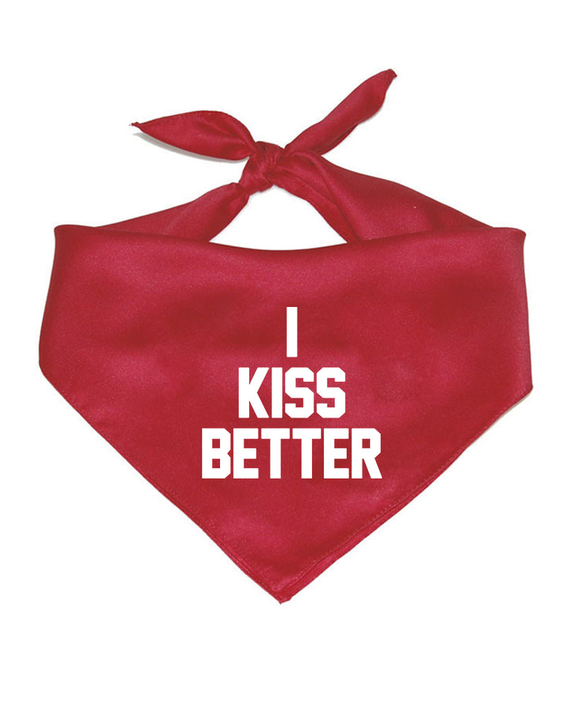Accessory | I Kiss Better | Pet Bandana