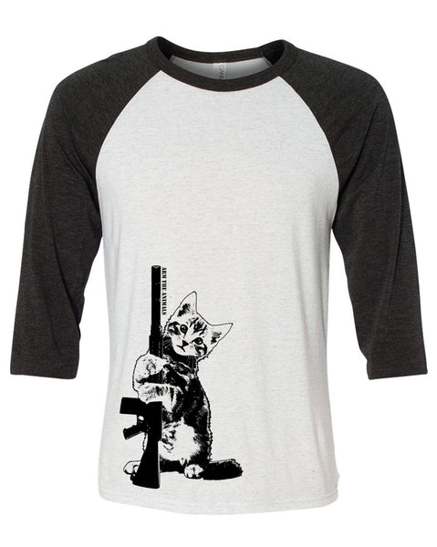 Men's | Ain't Kitten Around | 3/4 Sleeve Raglan