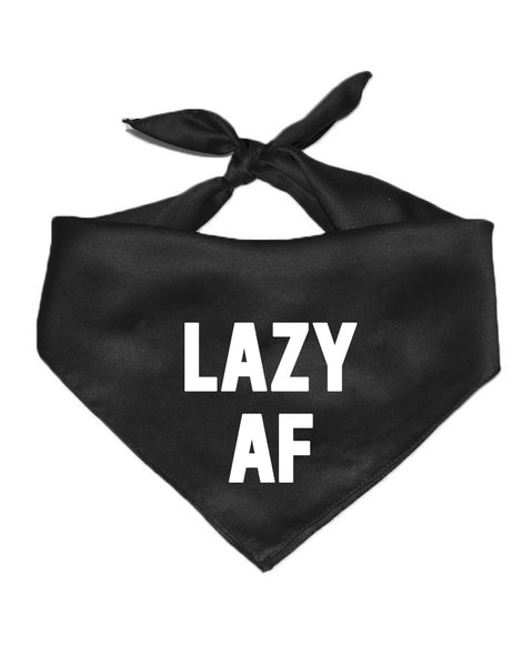 Accessory | Lazy AF | Cotton Pet Bandana