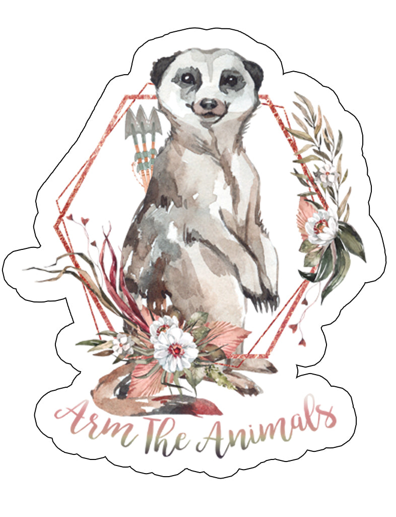 Stickers | Ridgeline Meerkat | Die Cut Sticker
