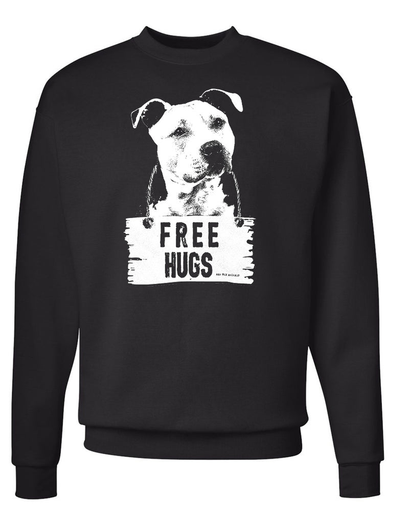 Men's | Free Hugs Pittie | Crewneck Sweatshirt