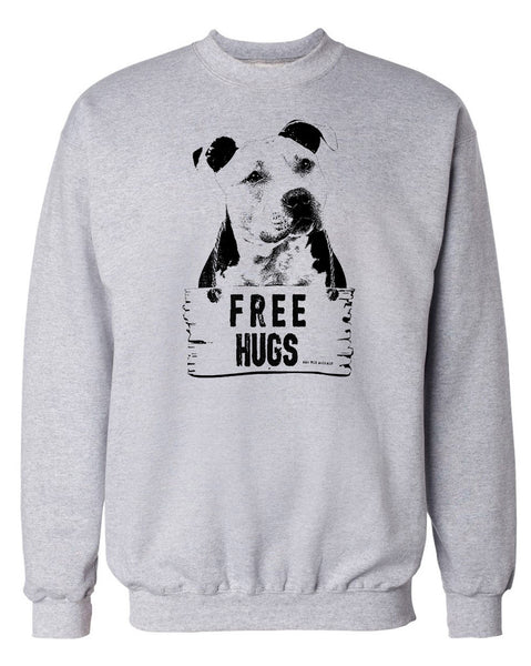 Men's | Free Hugs | Crewneck Sweatshirt