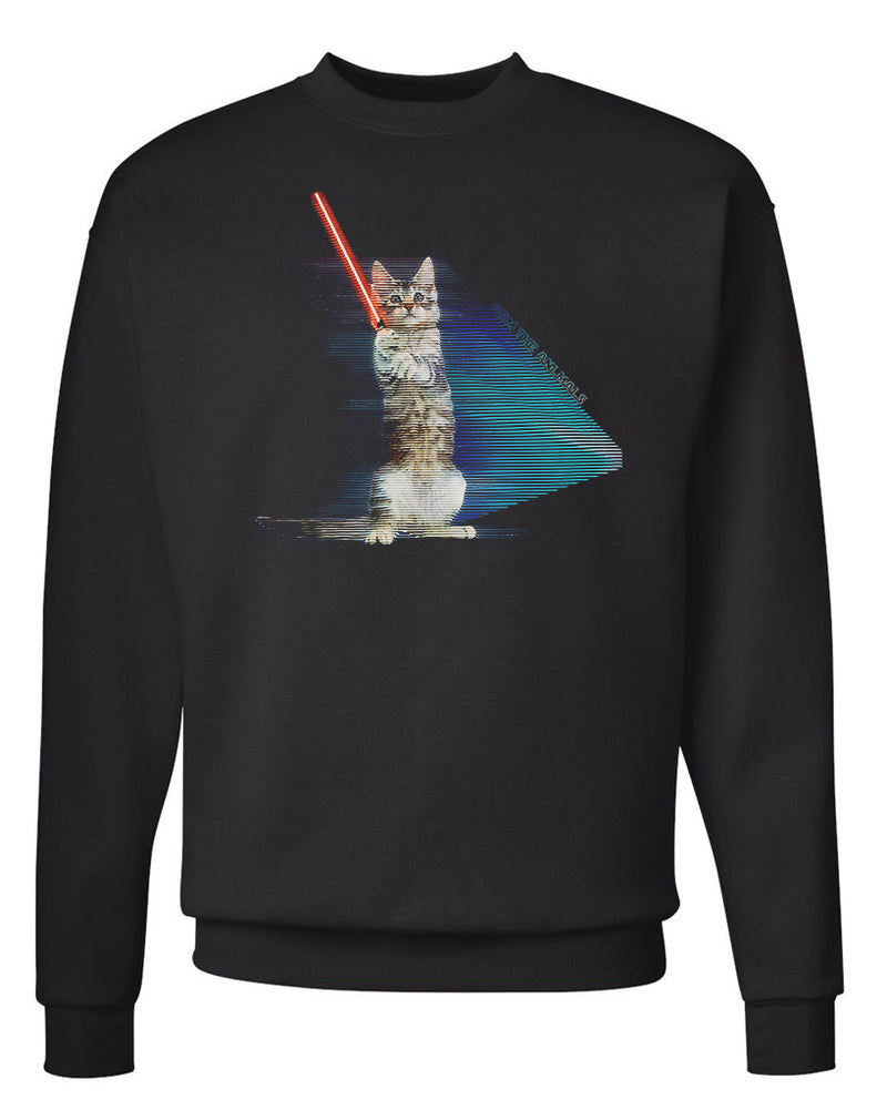 Men's | Hologram Battle Cat | Crewneck Sweatshirt