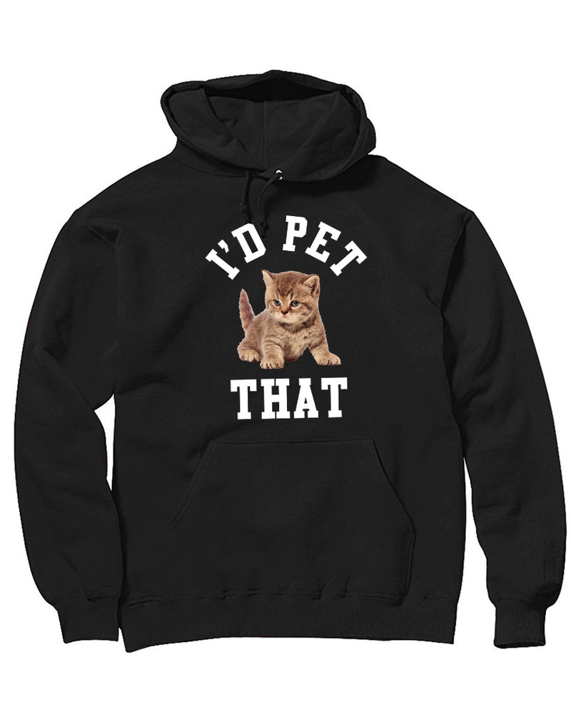 Women's | I'd Pet That | Oversized Hoodie