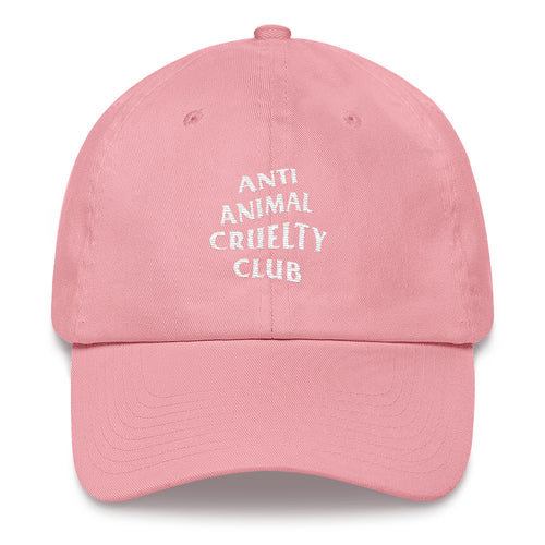 Accessory | Anti Animal Cruelty Club | Classic Dad Cap