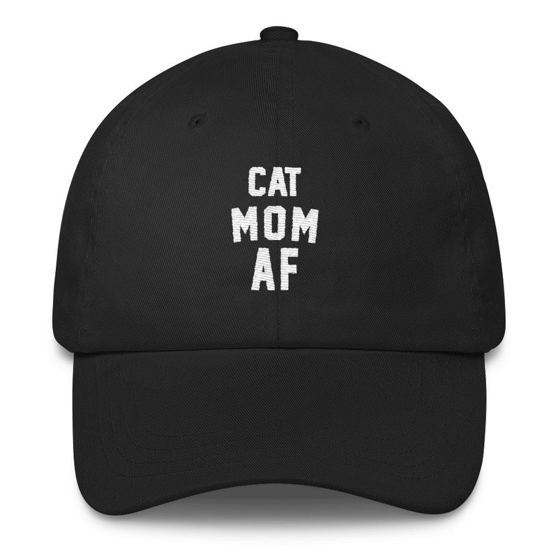 Hat | Cat Mom AF | Classic Dad Cap