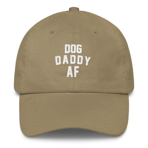 Hat | Dog Daddy AF | Classic Dad Cap