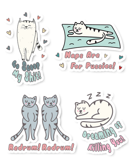 Stickers | OMG Cats 2 | Die Cut Sticker Set