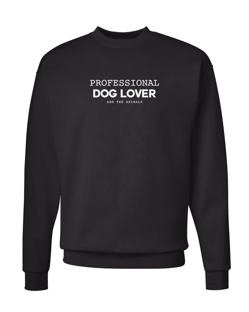 Men's | Professional Dog Lover | Crewneck Sweatshirt