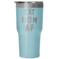 Accessory | Cat Mom AF | 30 Ounce Vacuum Tumbler