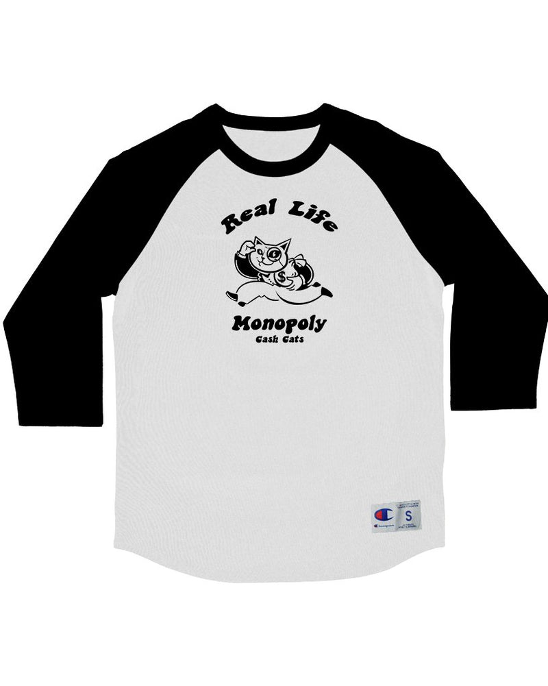 Men's | Real Life Monopoly | Baseball Tee