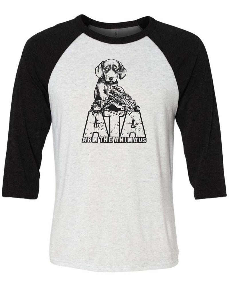 Men's | Danger Doxie | 3/4 Sleeve Raglan