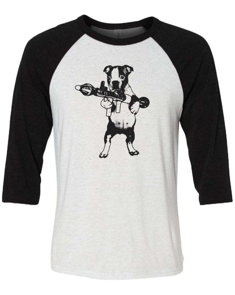 Men's | Terror Terrier | 3/4 Sleeve Raglan
