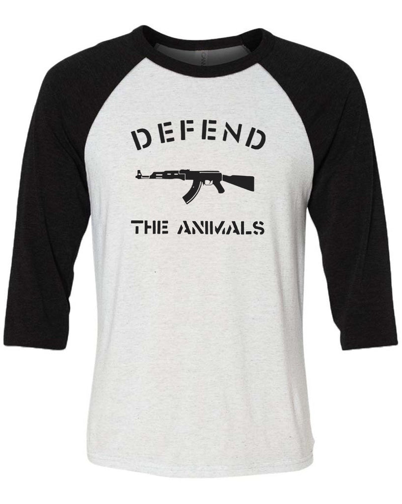 Men's | Defend The Animals | 3/4 Sleeve Raglan