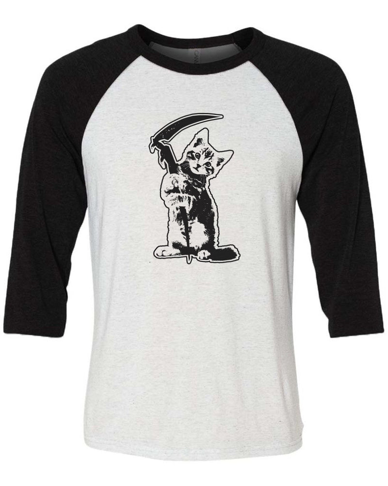 Men's | Reaper Kitty | 3/4 Sleeve Raglan