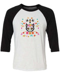 Men's | Spirit Cat | 3/4 Sleeve Raglan