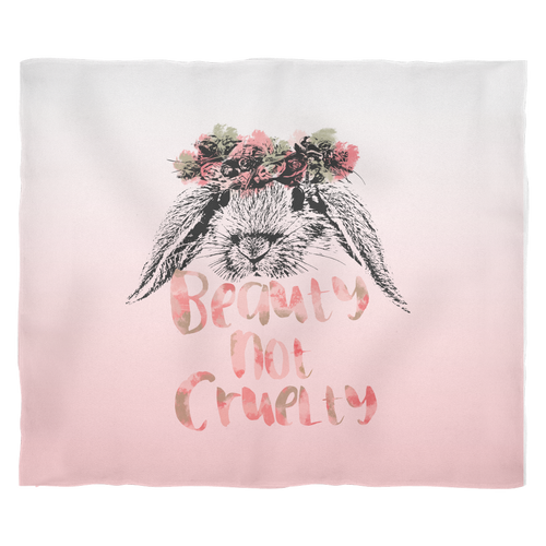 ACCESSORY | BEAUTY NOT CRUELTY | FLEECE BLANKET