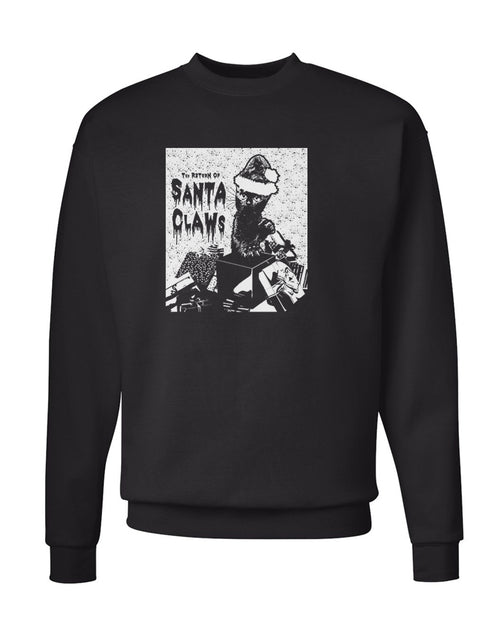 Men's | Santa Claws | Crewneck Sweatshirt