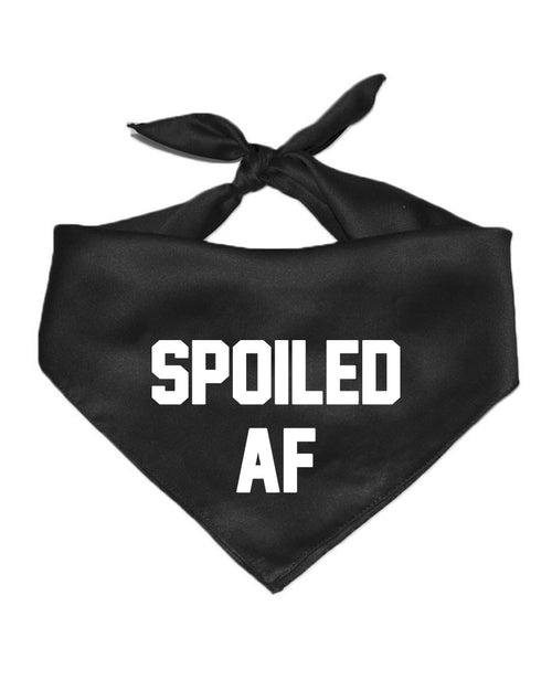 Accessory | Spoiled AF | Pet Bandana