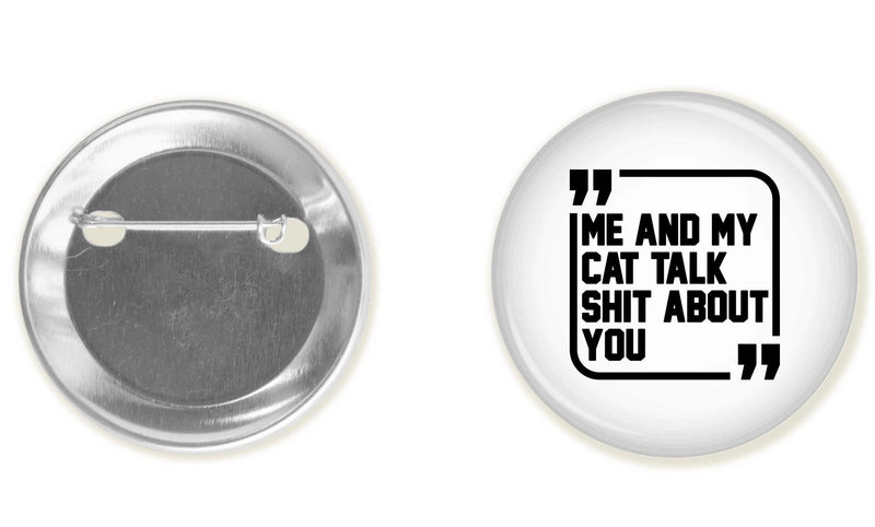 Accessory | Sh*t Talkers (Cat) | Button