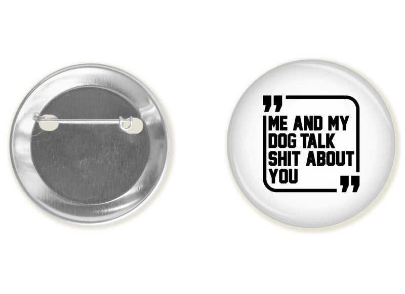 Accessory | Sh*t Talkers (Dog) | Button
