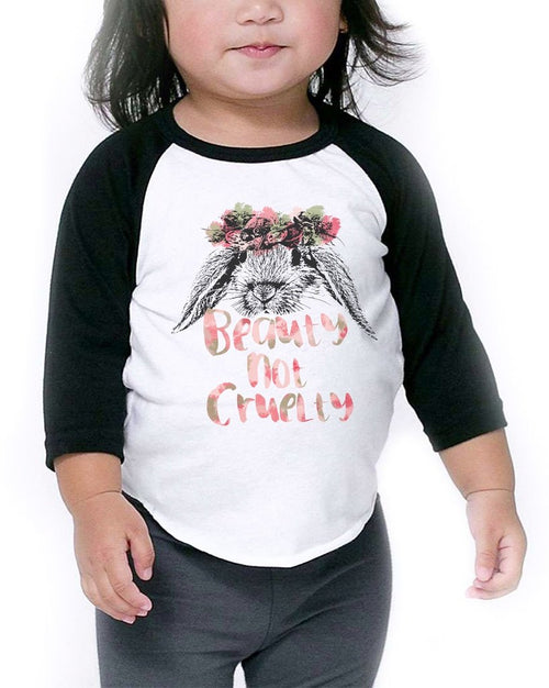 Toddler | Beauty Not Cruelty | Raglan