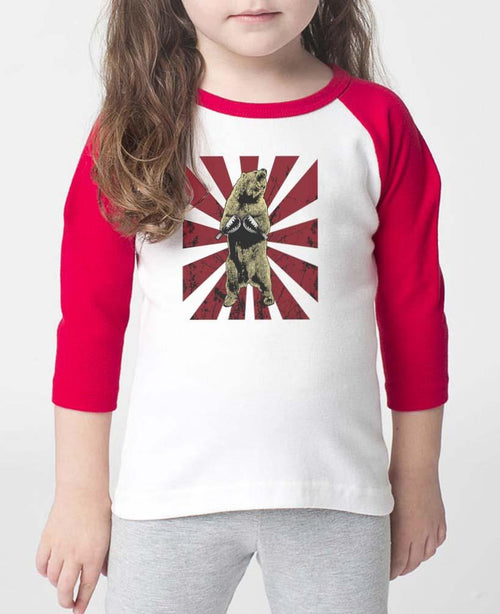 Toddler | Bear Traps | Raglan