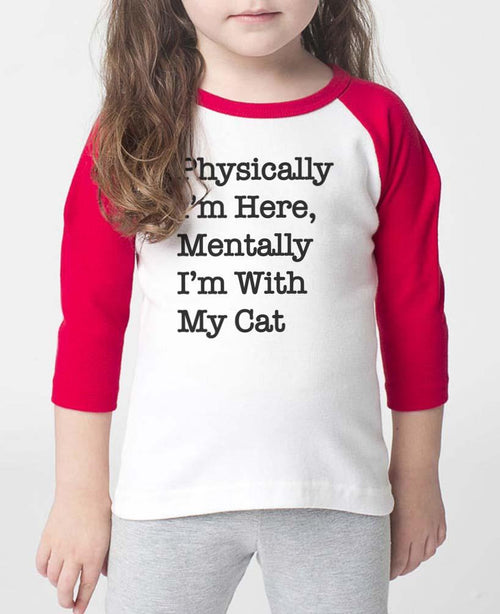 Toddler | With My Cat | Raglan